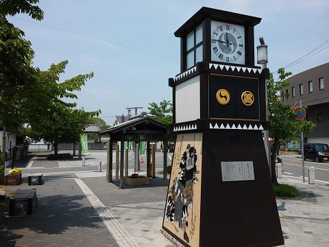 時計台と息継ぎ井戸