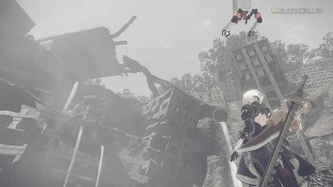 NieR:Automata廃墟