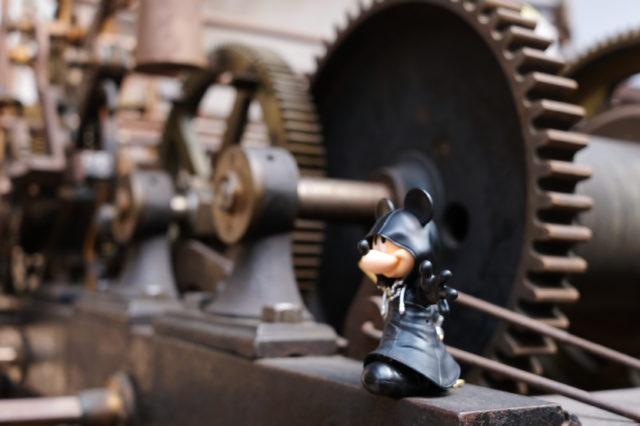 ミッキーと歯車