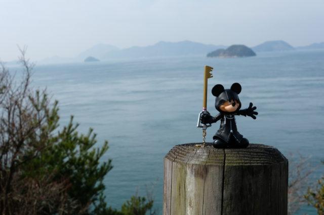 大久野島でフィギュア