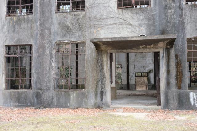 毒ガス島の廃墟2