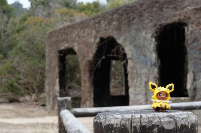 毒ガス島の廃墟3